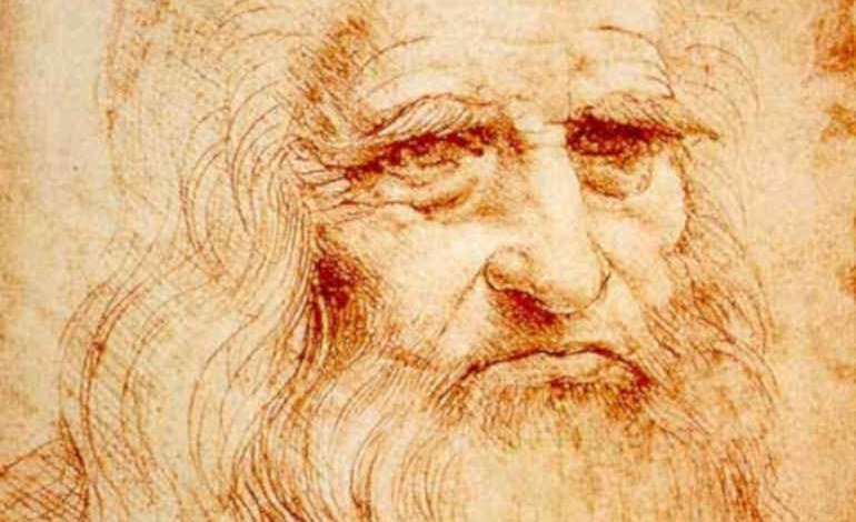 Leonardo da Vinci - from the homepage of Andrea Baucon